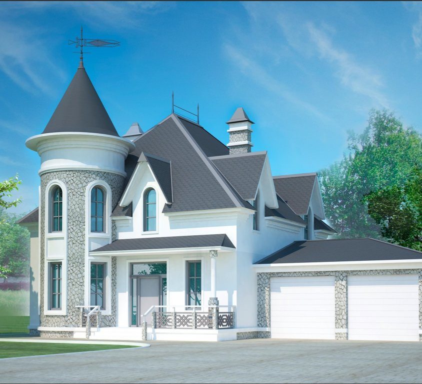 Большой комфортабельный дом