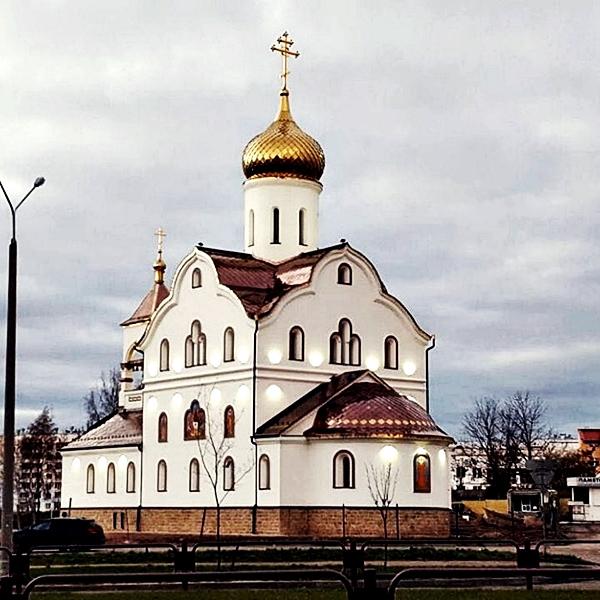 Строительство Храма Святой Матрены Московской