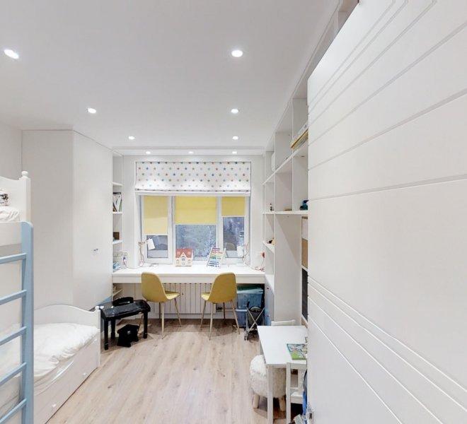 Ремонт квартиры для семьи с 3 детьми.